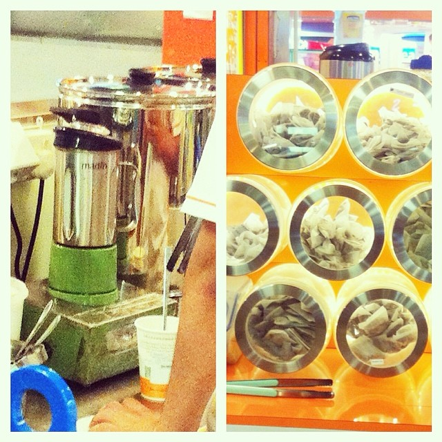 My beloved Each-A-Cup Earl Grey Milk tea.. fresh, real, instant brew w tea bags