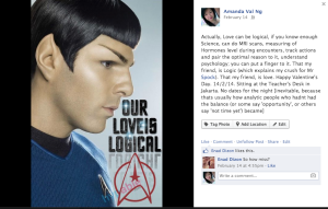 Mr Spock's Logical Love