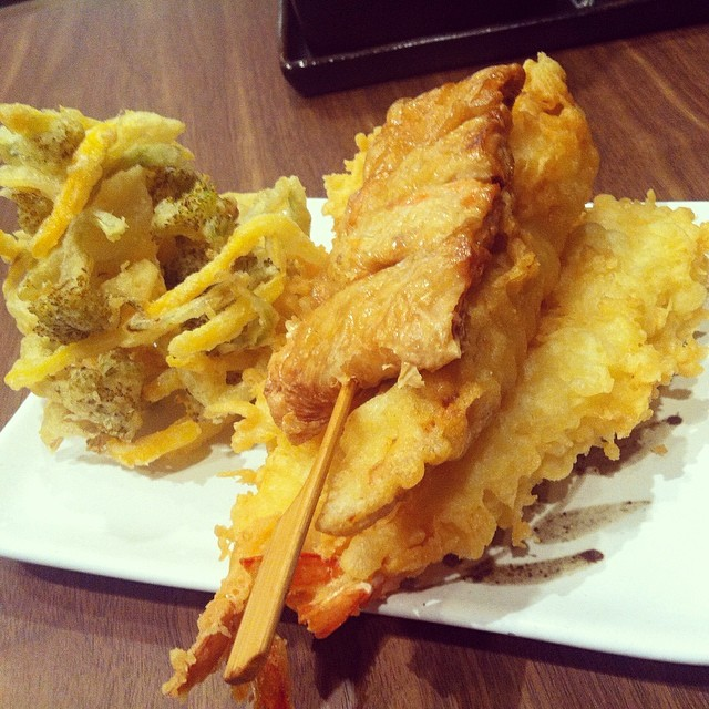 tempura are such tricky stuff..