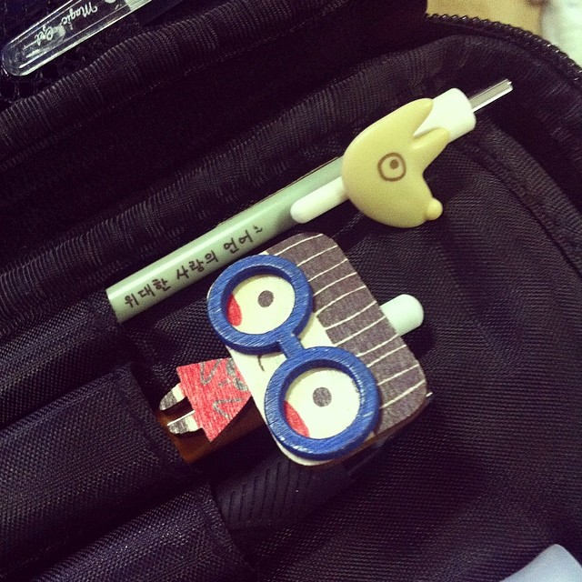 simple joys in a pencil case O_O ;) :D