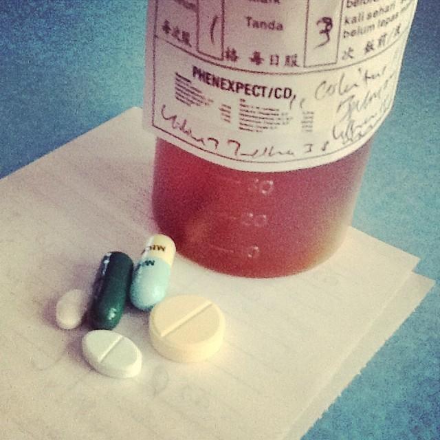 打败战,吃药。。