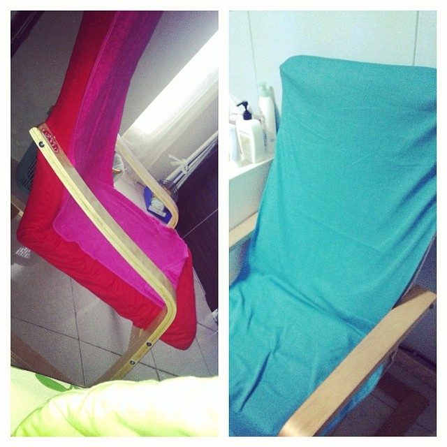 though the BFF n I are miles apart, it's nice to know that we happen to have the same lounge chair :)