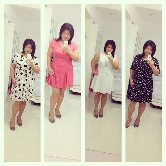 4 of 8 dresses that cost me less than SGD200