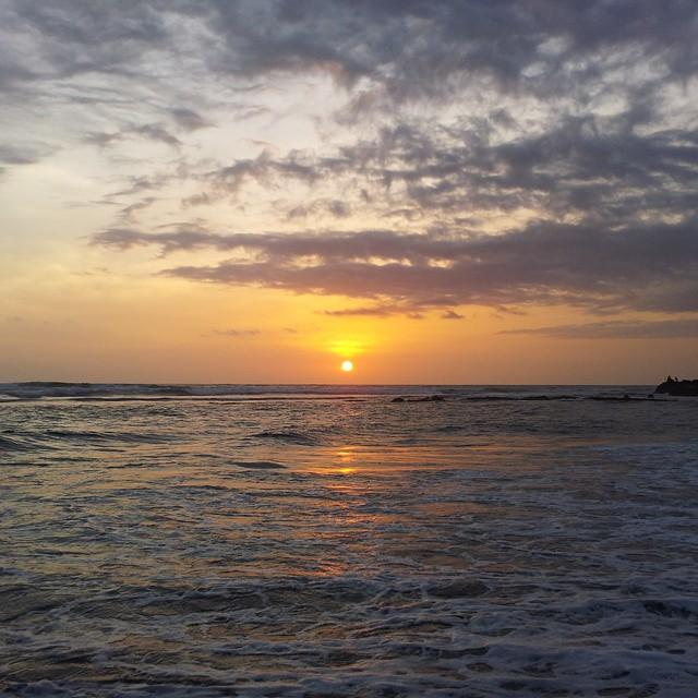 Last sunset @ #Bali #Canggu