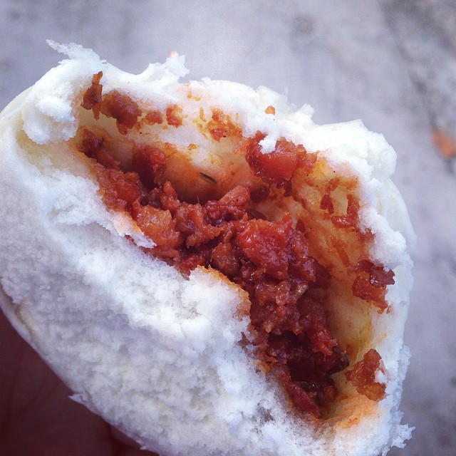 oh.. how I missed SG hawker style Char Siew Bao..