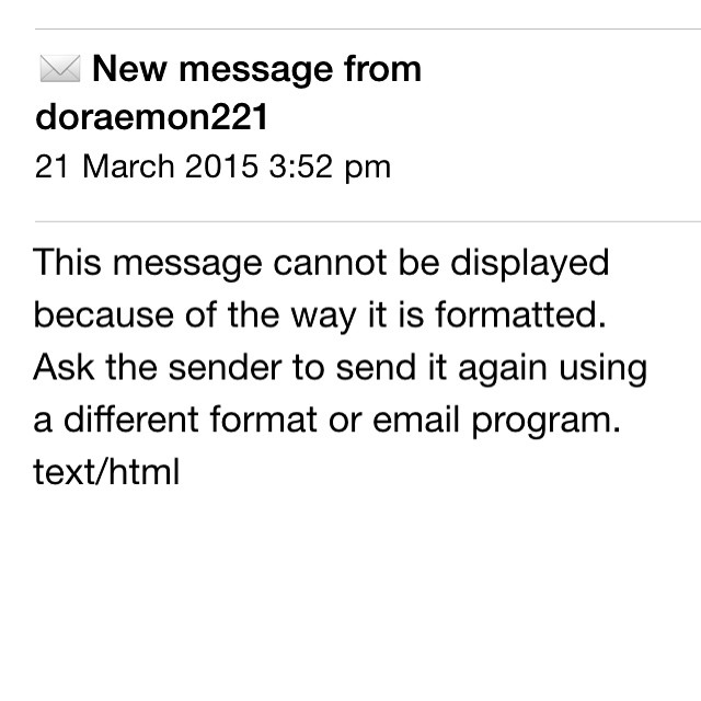 wah seh, first time see email error msg like that..