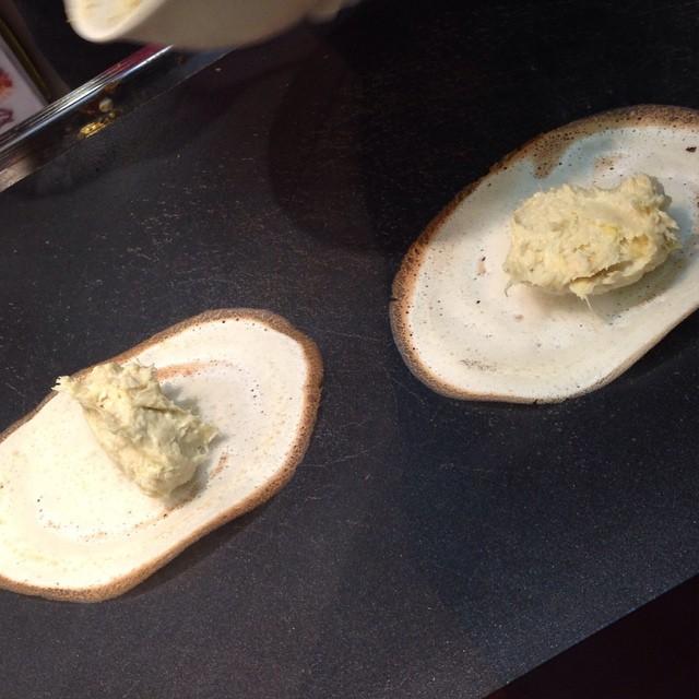 durian puff!!