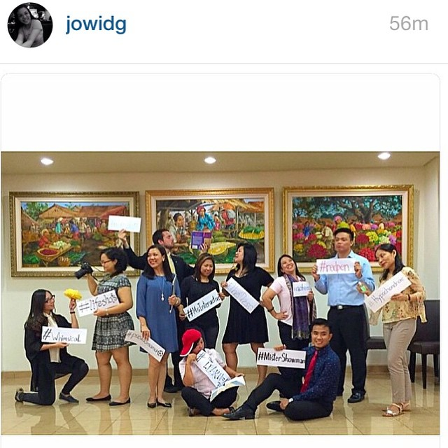 repost frm @jowidg :D yes, the English teachers are cool like that.