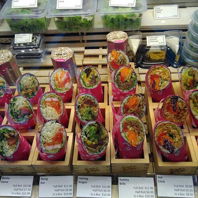 Sushi burrito. Pretty cool..
