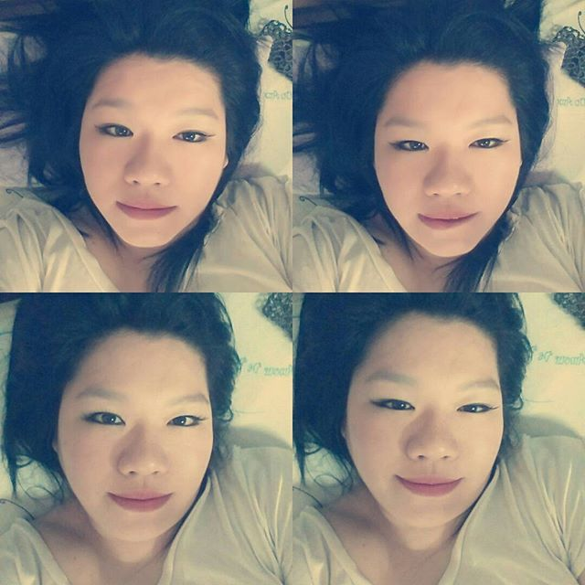31st Dec 15, bed head w makeup #filtergamestrong