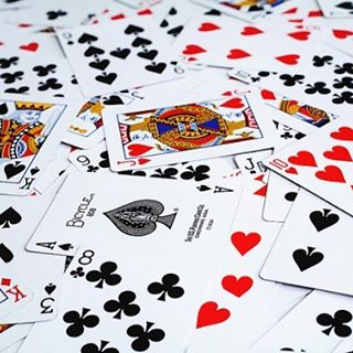 Bcos everyone is born w a diff deck of card, how they started, they lived n they end... 命。