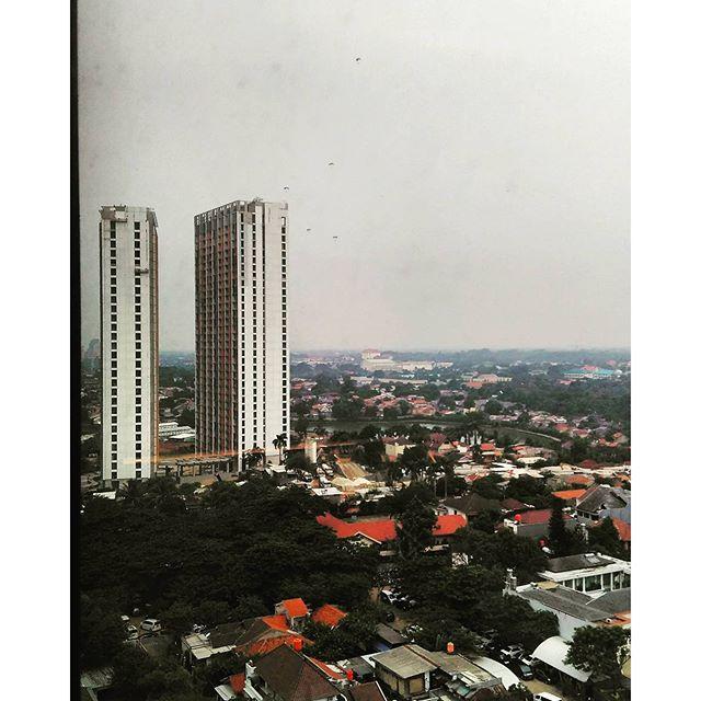 Parachutes at South Jakarta!