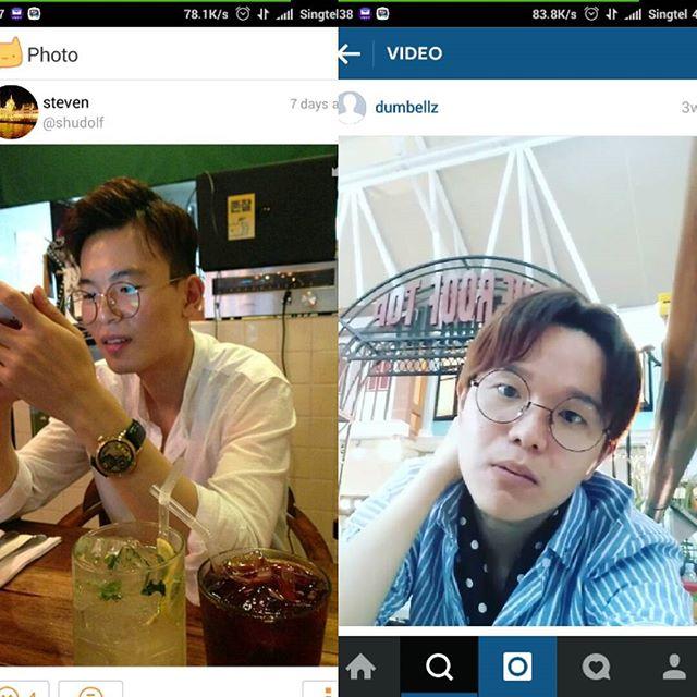 @dumbellz  found ur #doppelganger on a chat app, he's from South Korea. :D