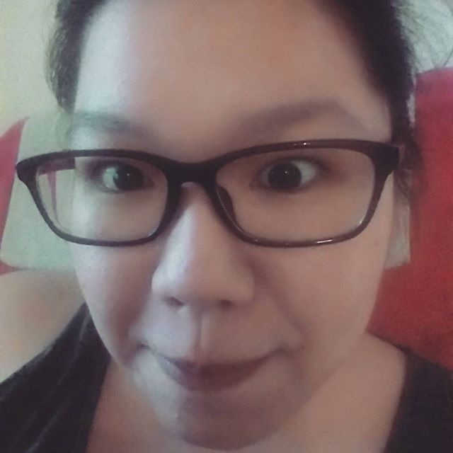 Acting silly cos new specs r in~