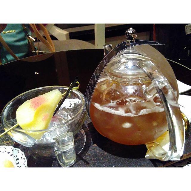 Pear tea *sLuRP!
