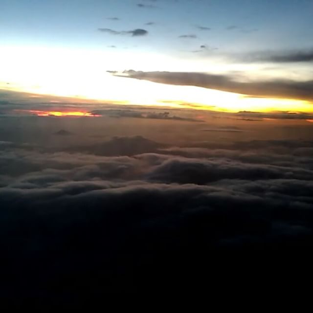 Just fascination with cloudscapes.