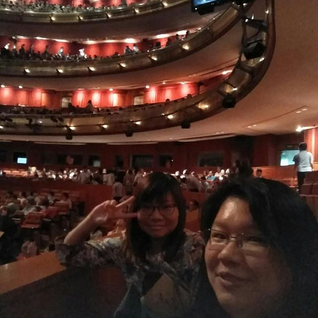 #birthdaycelebration #awesomeseats #esplanadetheatres #forbiddencity #kitchan #localproduction #notsolocationproduction #dicklee