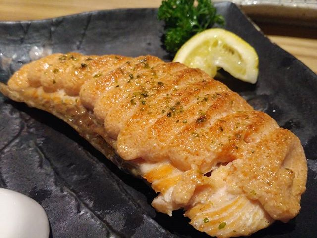 Salmon Mentaiyaki