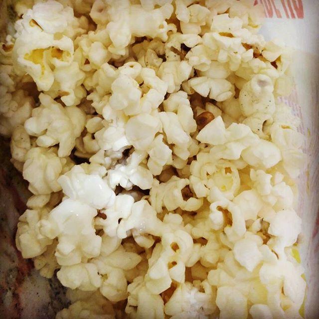 Fresh popcorn is love
