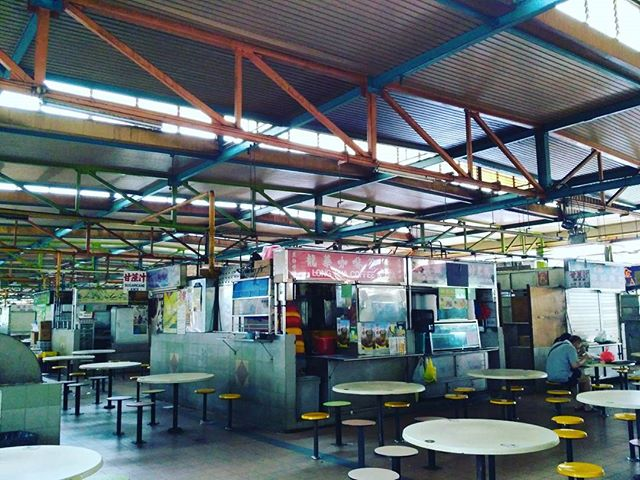 Used to be able to smell such good foods here. Old Woodlands Centre