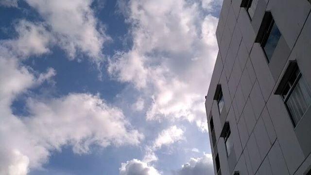 A little wind, much clouds..